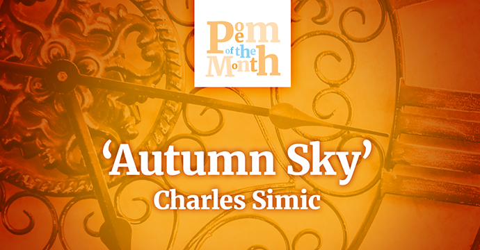 autumn sky by charles simic