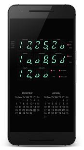 """PsPsClock """"Calc"""" - Music Alarm Clock & Calendar - náhled"""