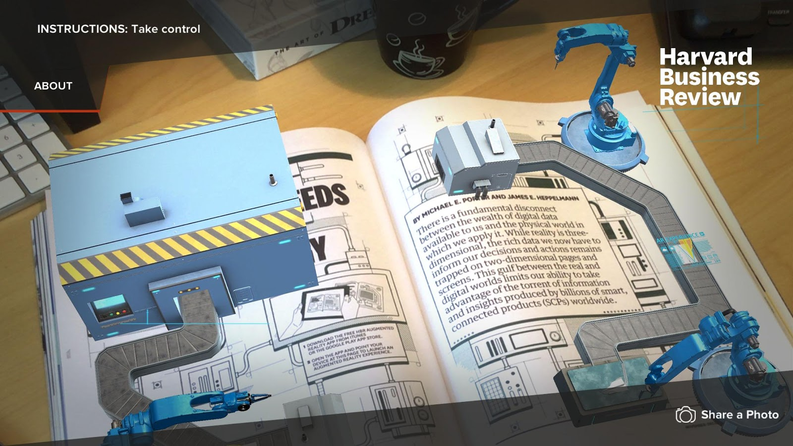 HBR Augmented Reality- screenshot
