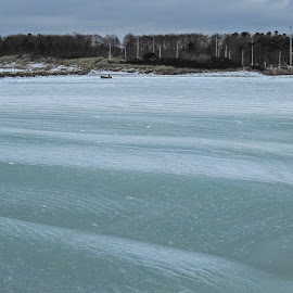 Soft ice by Henrik  Krogsgaard - Novices Only Landscapes ( water, winter, ice, snow, sea, beach )