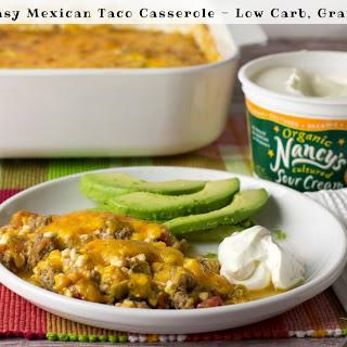 Easy Mexican Taco Casserole.
