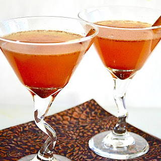Spiced Apple Brandy Cocktail.