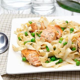 Salmon Herb Pasta.