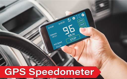 Digital Speedometer - GPS Offline odometer HUD Pro  screenshots 1