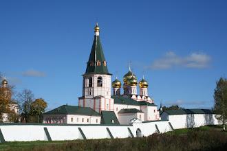 Photo: и цель нашей поездки - Валдайский Иверский Святоозерский Богородицкий мужской монастырь