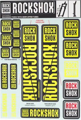 RockShox Decal Kit, 35mm alternate image 6