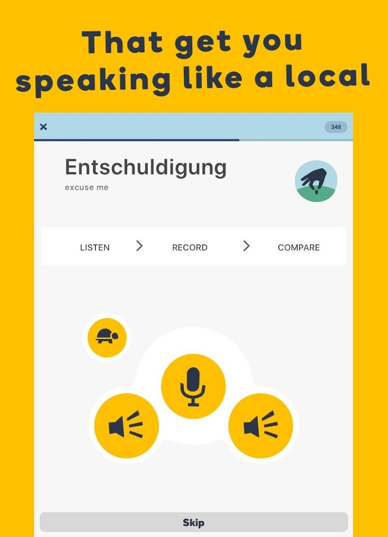 Learn Languages with Memrise Screenshot 6