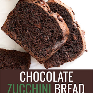 Double Chocolate Gluten Free Zucchini Bread