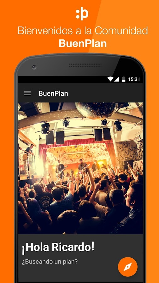BuenPlan- screenshot