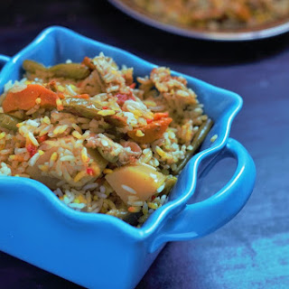 Easy Vegetable Biryani Recipe in Pressure Cooker