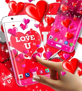 I love you live wallpaper - náhled