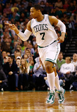 Photo: BOSTON, MA - JANUARY 4:  Jared Sullinger #7 of the Boston Celtics celebrates after making a shot against the Indiana Pacers during the game on January 4, 2013 at TD Garden in Boston, Massachusetts. NOTE TO USER: User expressly acknowledges and agrees that, by downloading and or using this photograph, User is consenting to the terms and conditions of the Getty Images License Agreement. (Photo by Jared Wickerham/Getty Images)