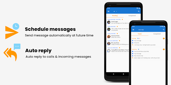 Do It Later - Auto Message, Send & Reply Text SMS 4.0.5 (Premium) (Armeabi-v7a)