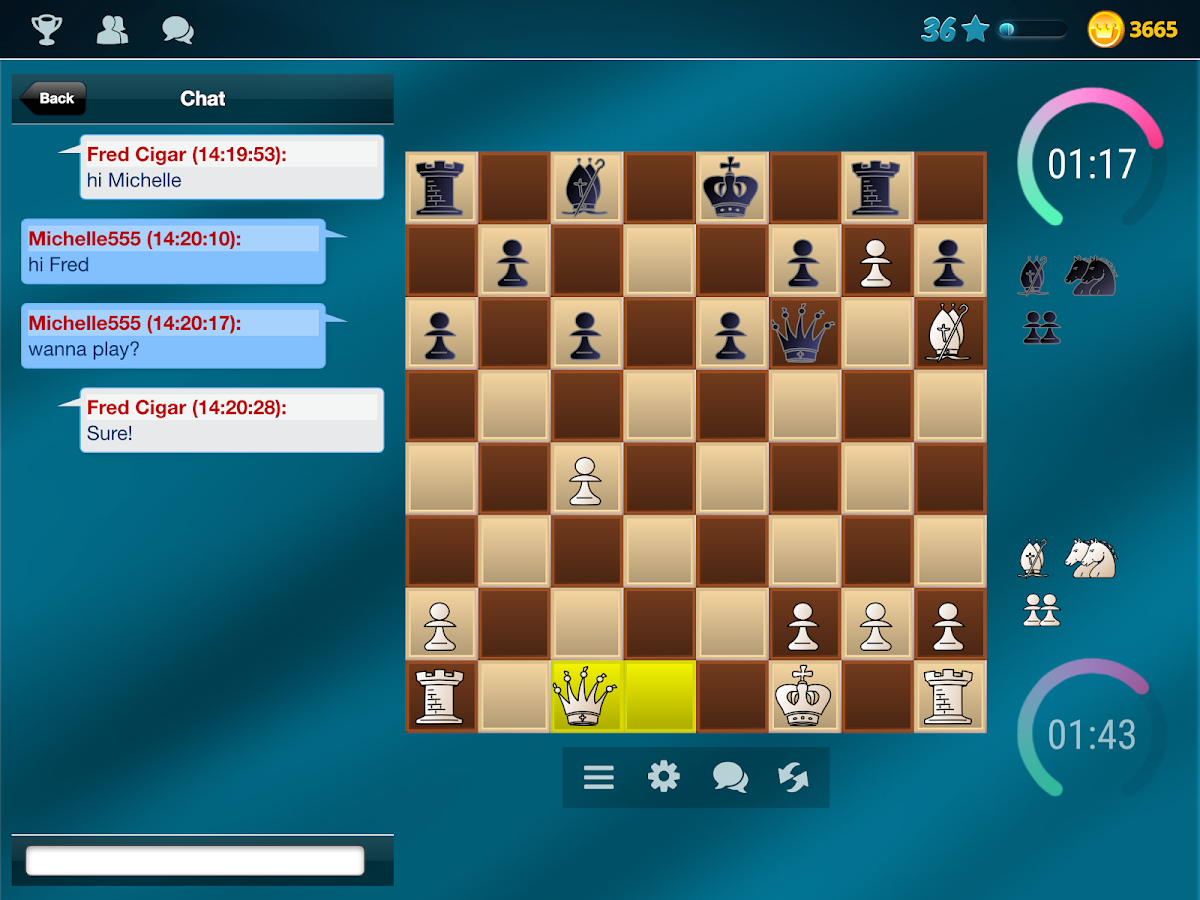 Chess Online- screenshot