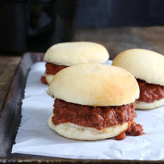 Slow Cooker Gluten Free Sloppy Joes.
