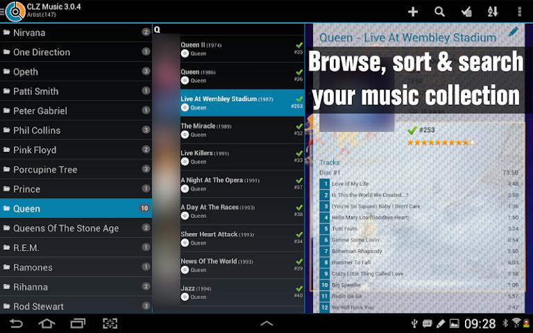 android CLZ Music - Music Database Screenshot 0
