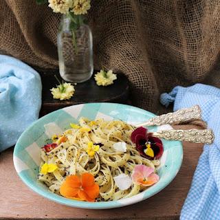 Lemon Poppy Seed Pasta