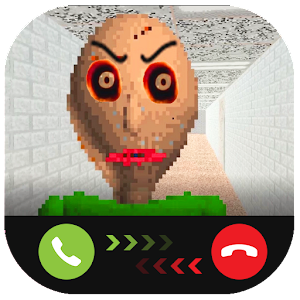 Instant Video Call Scary/Baldi : Simulation for PC