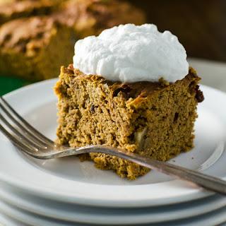 Gluten-Free Pumpkin Snack Cake