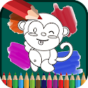 Kids - Drawing & Coloring icon