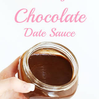 Healthy Chocolate Date Sauce.
