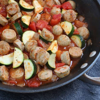 Sausage and Zucchini Skillet