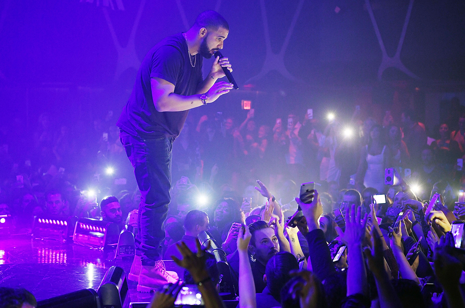 Drake Hosts Official Concert After-Party With Virginia Black