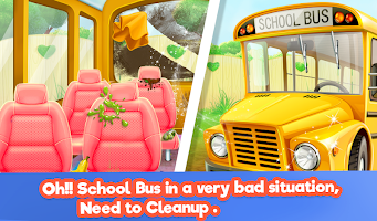Keep Your House Clean 2 - School Cleanup Story