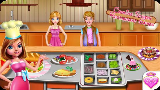 Cooking school restaurant game apps on google play screenshot image solutioingenieria Gallery