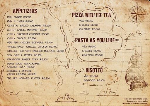 The ARK menu 3