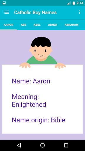 免費下載遊戲APP|Catholic Baby Names app開箱文|APP開箱王