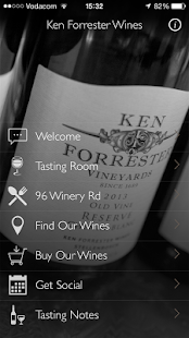 Ken Forrester Wines- screenshot thumbnail