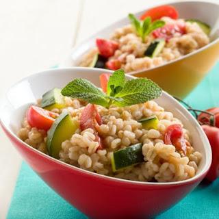 Pearled Barley Mediterranean Salad.