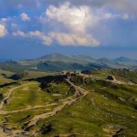 Platou Bucegi by Mihai Bratu - Landscapes Mountains & Hills ( green, summer, historic district, romania, landscape, landscapes, historic,  )