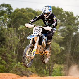 Rush! by Vijay Tripathi - Sports & Fitness Motorsports ( motorbike, motocross, motor, dirtbike, motorcycle, motorsport )