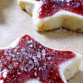Sugar Plum Shortbread Christmas Cookies