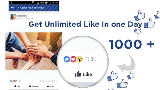 10000 Likes : Auto Liker 2018 tips 1