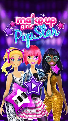 Makeup Girls - Star dress up games for kids ss1
