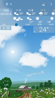 正確な天気 YoWindow ライブ壁紙 ウィジェットのおすすめ画像2