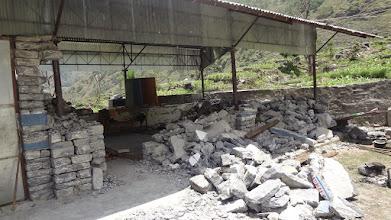 Photo: The collasped walls of Kumbeshwori Primary School at Gunsa VDC.