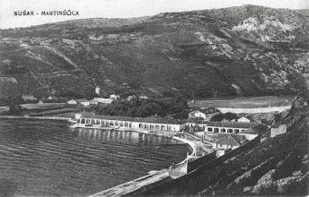 Photo: Uvala Martinšćica, Sušak (mjesto gdje je današnji Viktor Lenac)