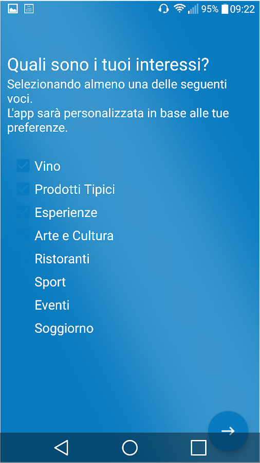 Me - Incontra il Territorio- screenshot