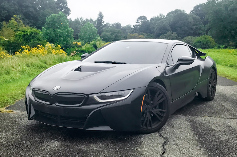 Rent A Black BMW I8 In West Hollywood