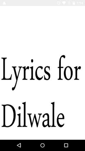 Lyrics For Dilwale