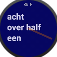 NL text Watch Face icon