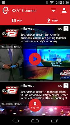 KSAT Connect - screenshot