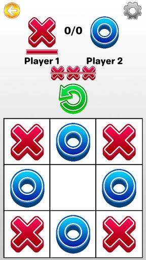 Tic Tac Toe 2 player games, tip toe 3d tic tac toe android2mod screenshots 5