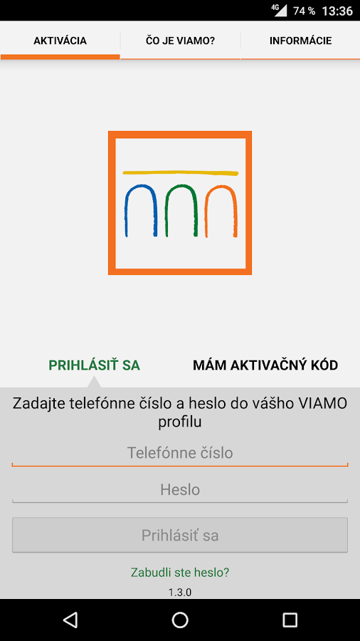 VÚB VIAMO- screenshot