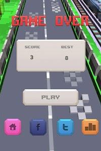 Retro Racing 3D screenshot 2