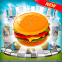 Burger And Soda Cooking- Deluxe Restaurant Chef icon